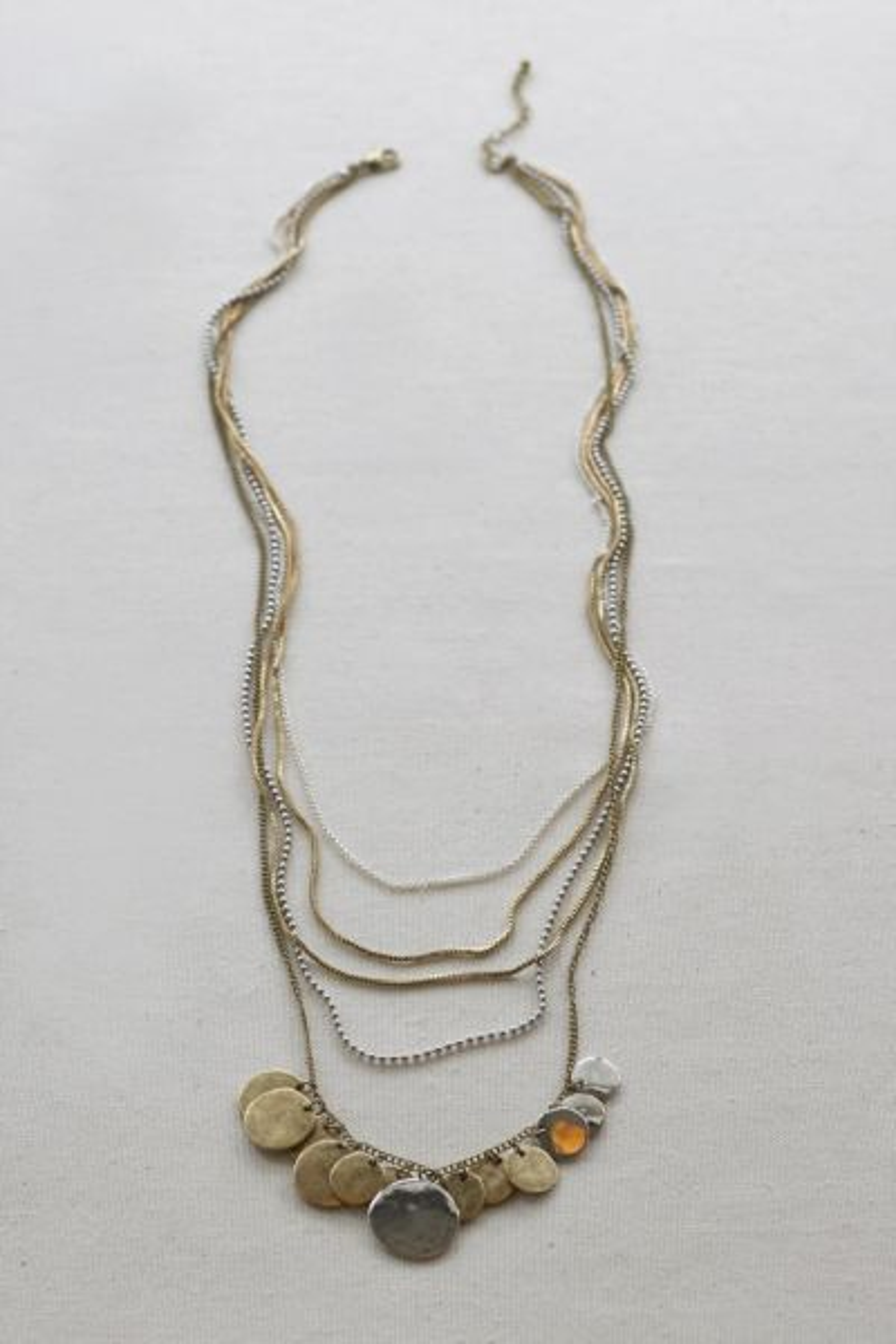 Excelsior Multi Strand Long Necklace