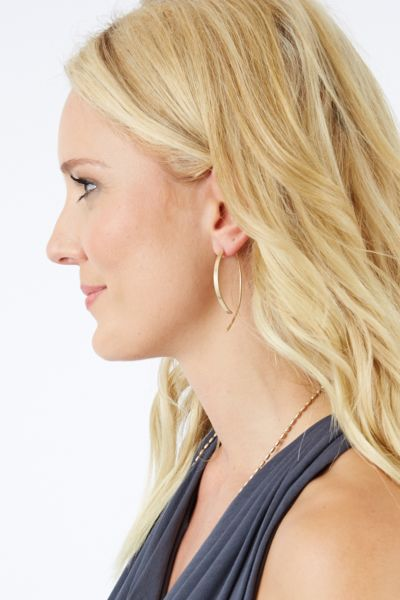 Piper Matte Pull Through Hoops
