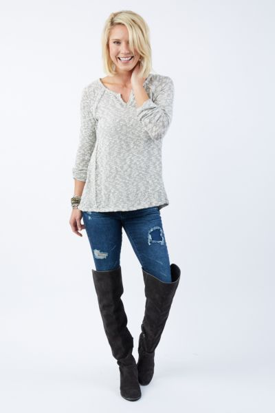 Braeve Wheeler Peak Swing Sweater