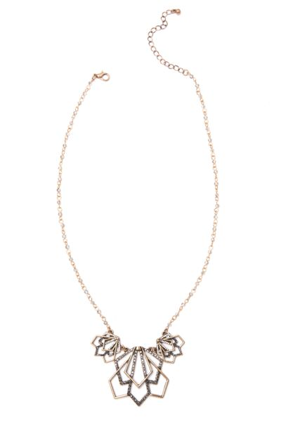 Excelsior Beaded Crossover Choker
