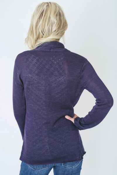 Wooden ships Marled Wrap Open Cardy