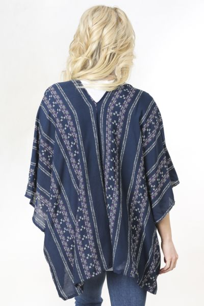 Garnet field Tribal Print Bed Jacket