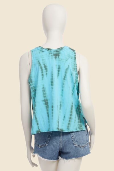 Lovestitch Asher Tie Dye Muscle Tank