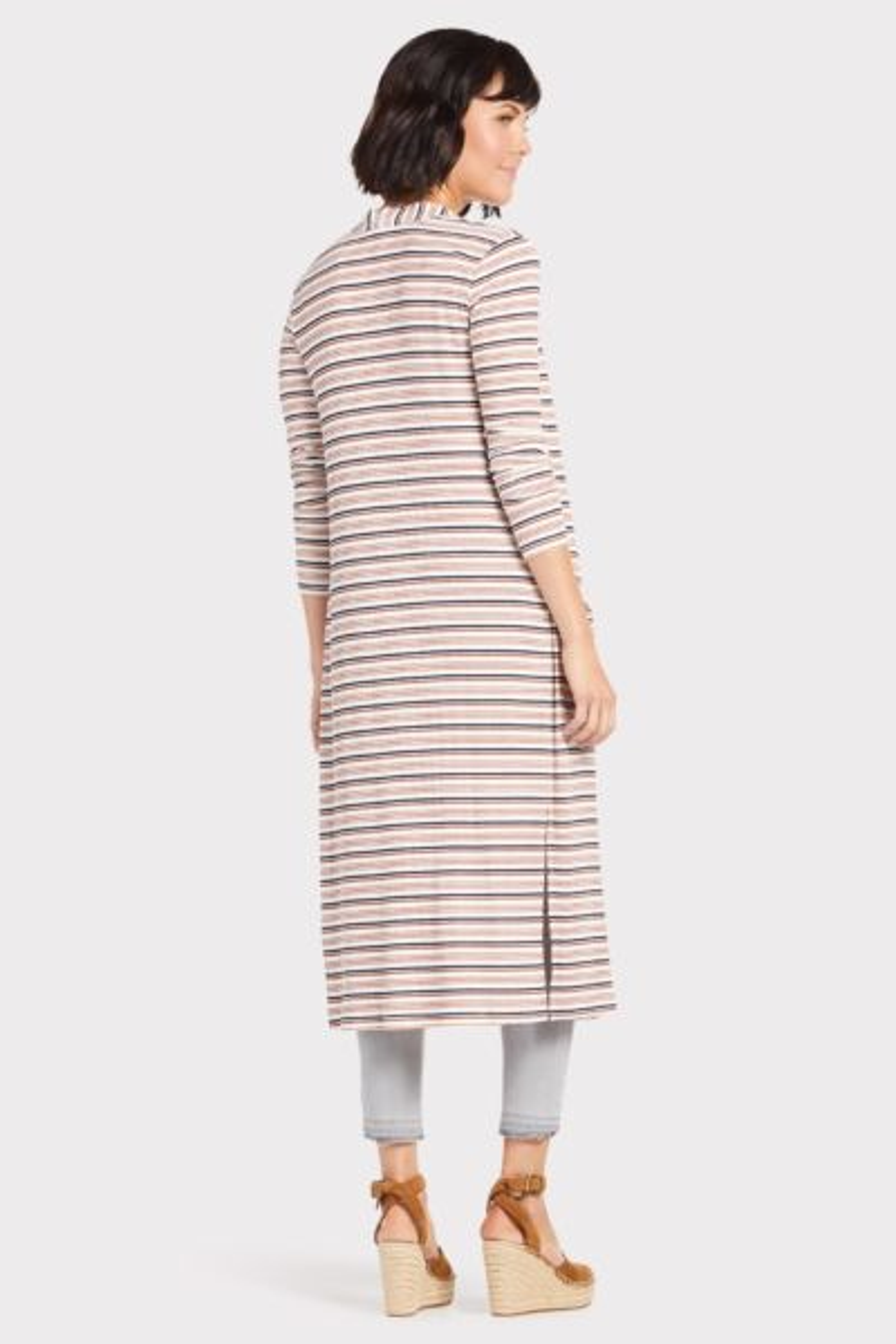 Peyton jensen Jenny Multi Striped Cardigan