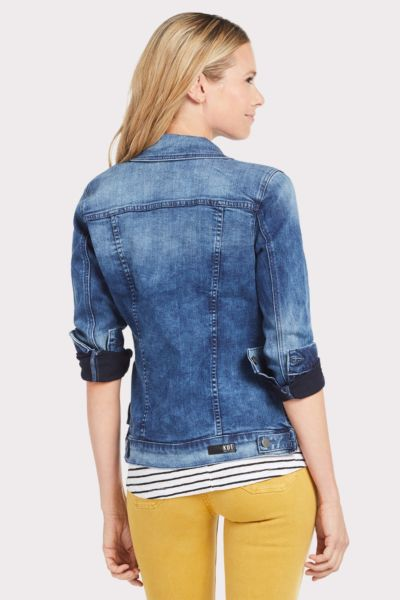 Kut from the kloth Terry Hi-Lo Denim Jacket