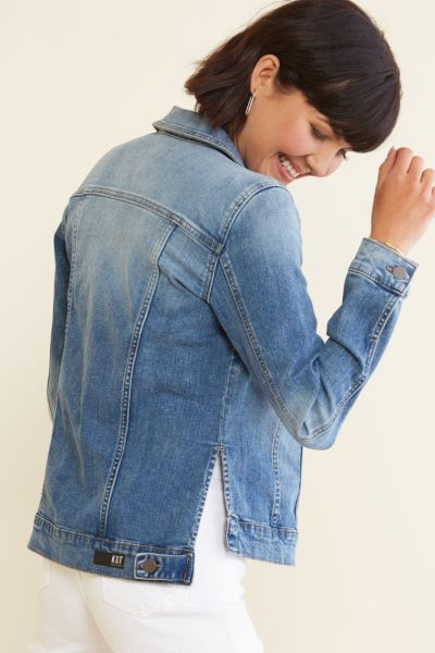 Kut from the kloth Terry Denim Jacket
