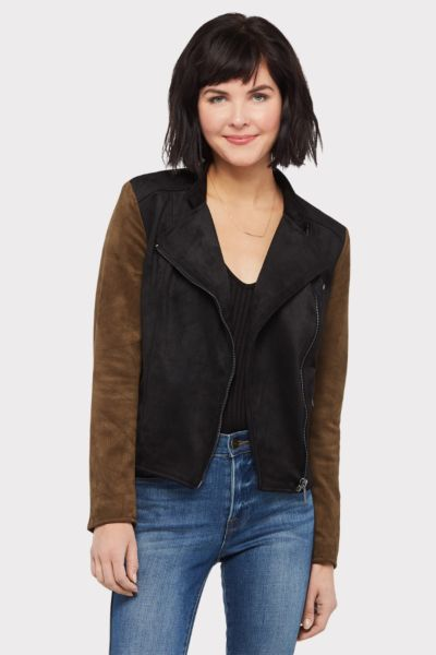 Kut from the kloth Faux Suede Moto
