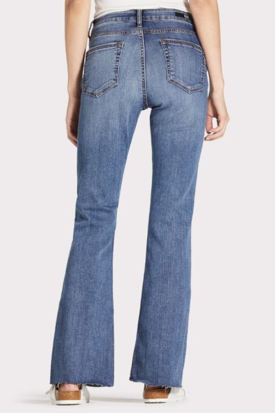 Kut from the kloth Stella Flare with Raw Hem