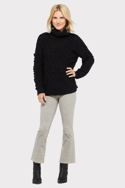 Allison joy Samara Bauble Turtleneck Sweater