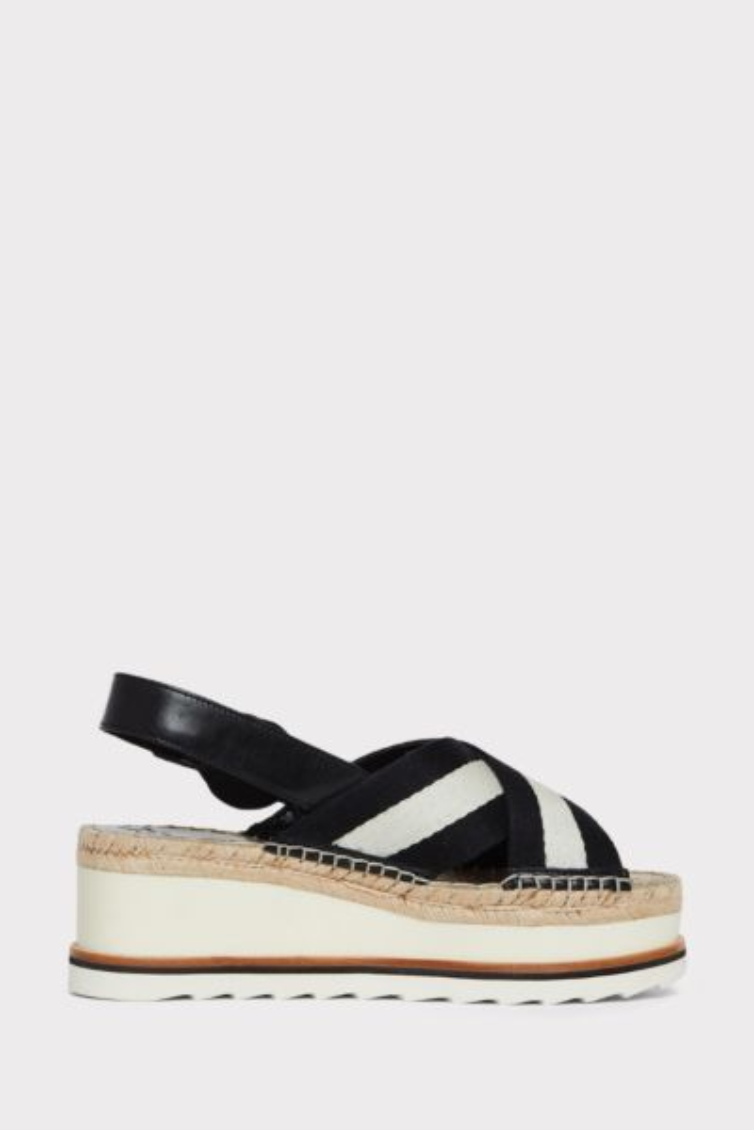 Marc fisher Glenna Striped Wedge Sandal