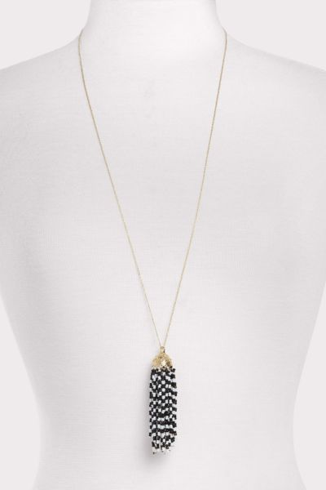 Thirty-nine 42 Jenny Beaded Tassel Necklace