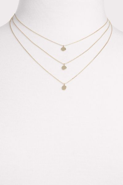 Thirty-nine 42 Bodie Triple Disk Necklace