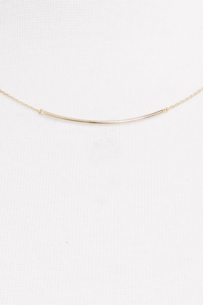 Thirty-nine 42 Turner Curved Bar Necklace