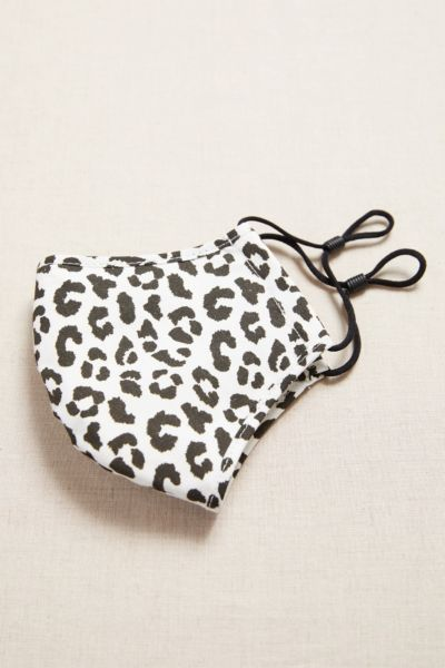 Harriet isles Leopard Mask with Filter Pocket
