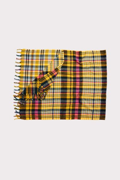 Harriet isles Beth Plaid Scarf