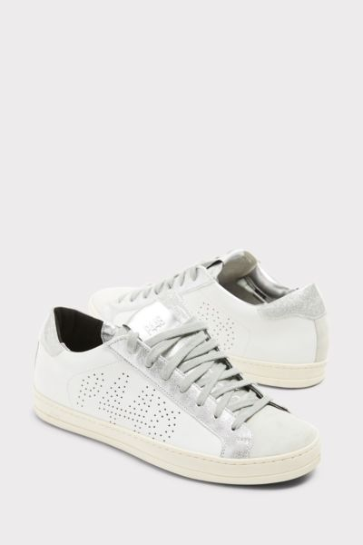P448 Glitter Lace Up Sneaker