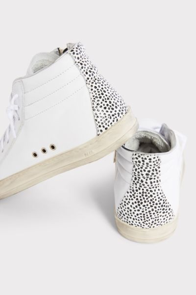 P448 Leopard Dot High Top Sneaker