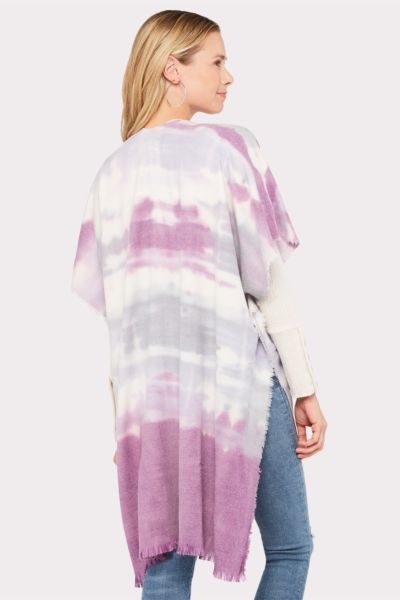 Do everything in love Cora Tie Dye Ruana