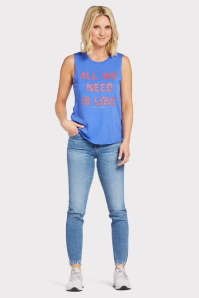 Spiritual gangster All We Need Is Love Tank