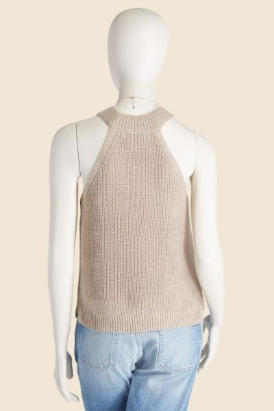 Stitches and stripes Sweater Tank