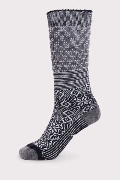Smart wool Snowflake Flurry Sock