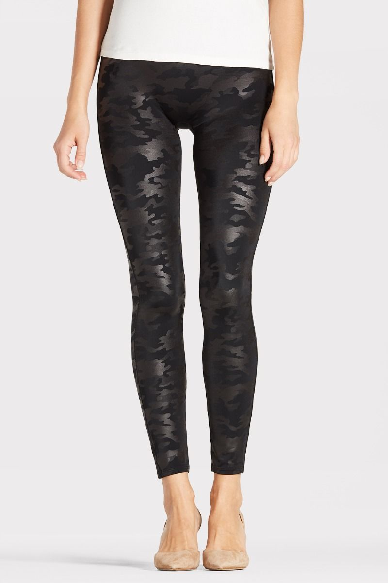 fef359df76a97a Faux Leather Camo Legging | EVEREVE