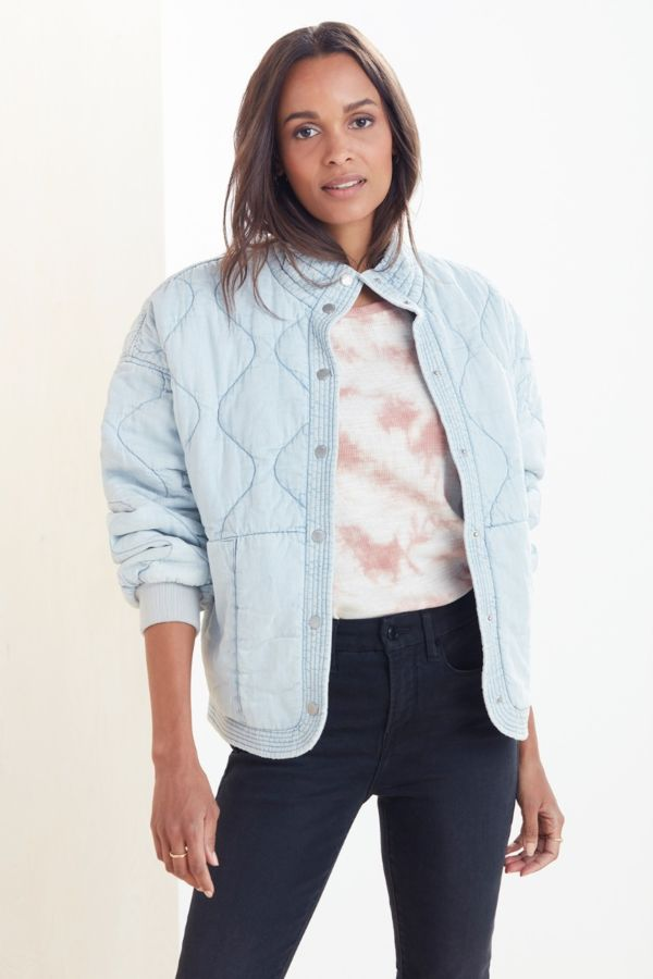Blanknyc Sun Bleached Quilted Jacket