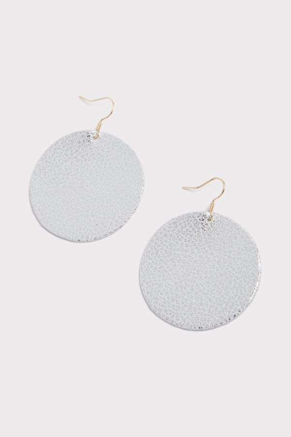 Thirty-nine 42 Haven Sparkle Leather Earrings