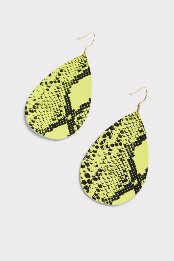 Thirty-nine 42 Arely Snake Tear Drop Earrings
