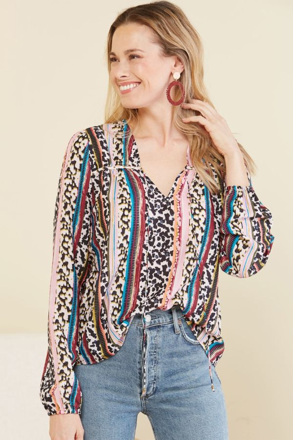 Marie oliver Phoebe Peasant Blouse