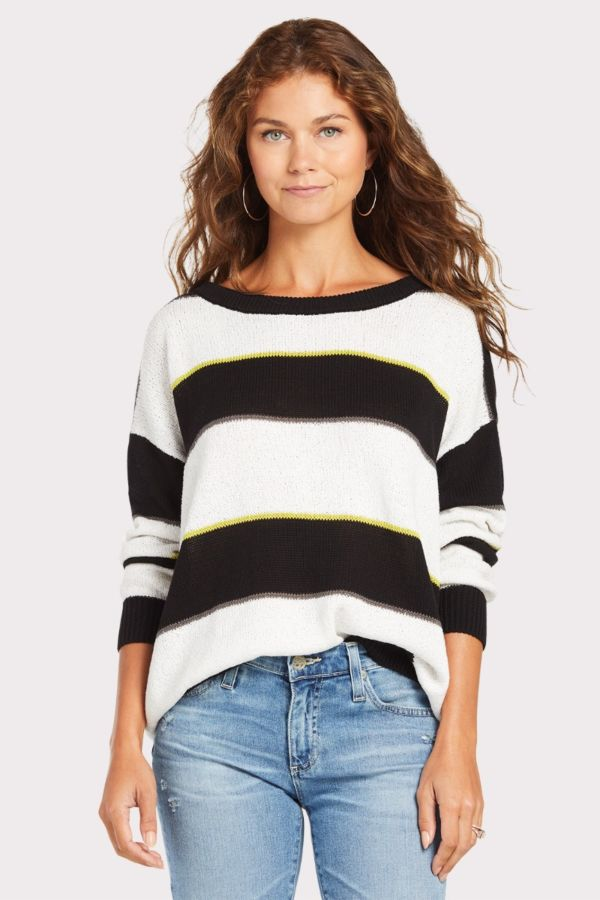 Peyton jensen Sawyer Striped Sweater