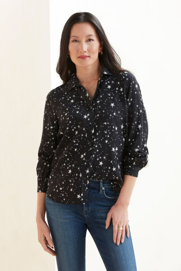 Rails Noemi Star Button Down