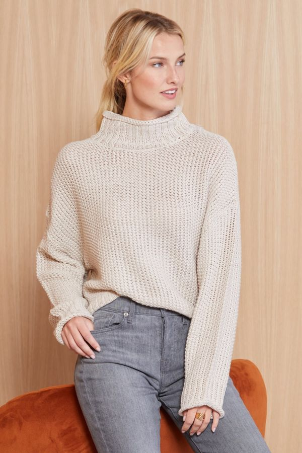 Rd style Mock Neck Pullover