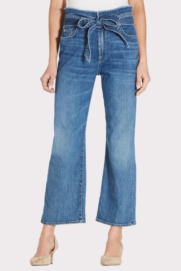 7 for all mankind Paperbag Cropped Alexa