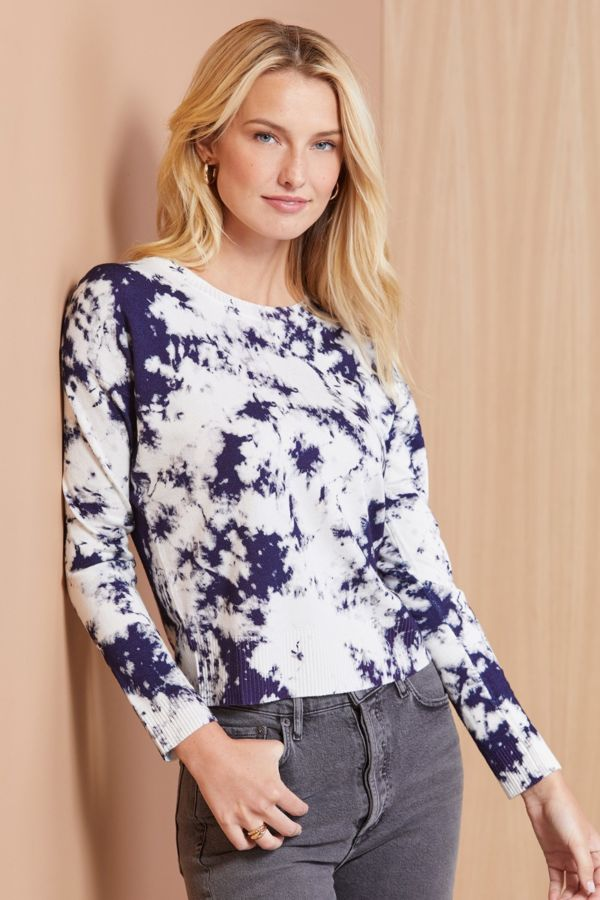 Jamison Holly Tie Dye Pullover