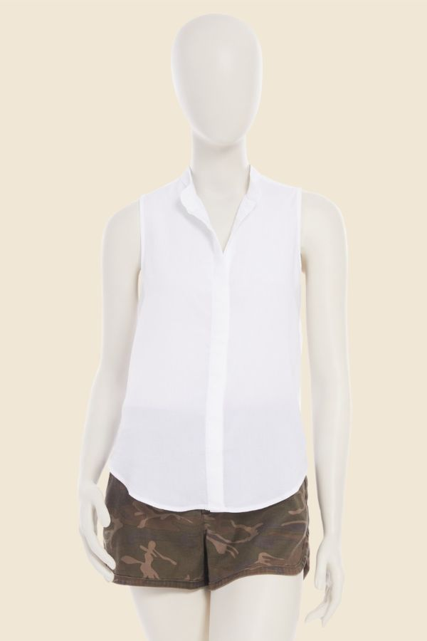 Cloth and stone Sleeveless Button Down