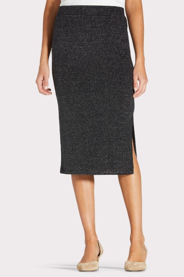 Sanctuary Metallic Pencil Skirt
