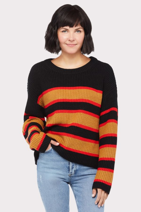 Sanctuary Ezra Stripe Pullover