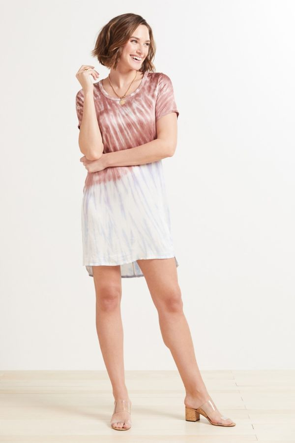 Chaser Stretch Silky Tee Dress