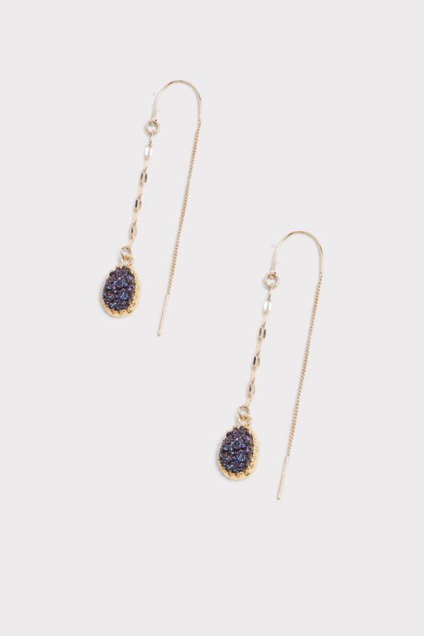 Thirty-nine 42 Asher Druzy Drop Earrings
