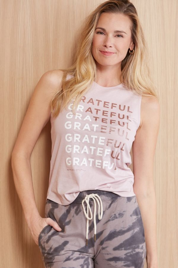 Spiritual gangster Grateful Muscle Tank