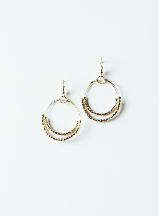 Excelsior Wire Hoop Earrings