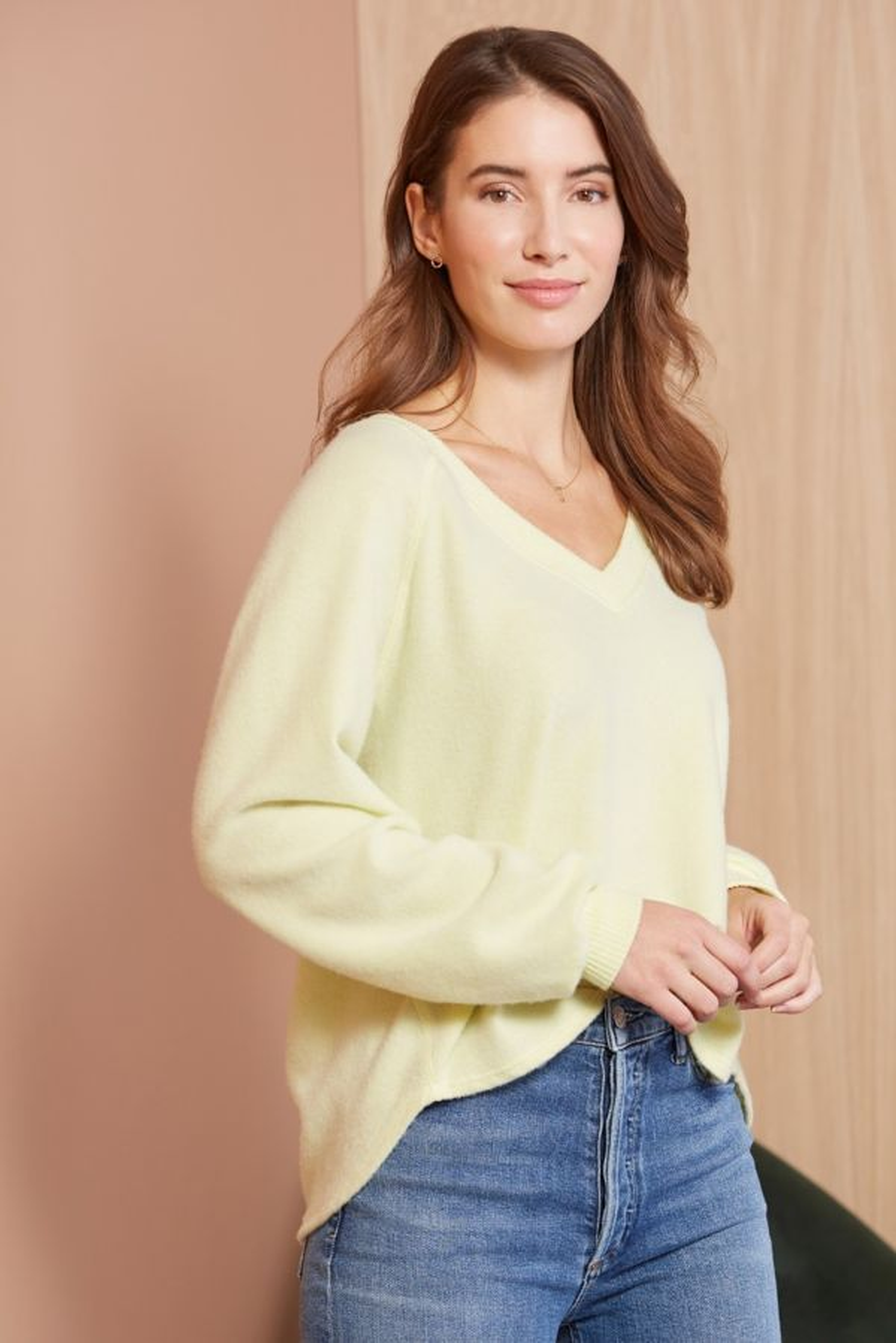 Allison joy Mac V Neck Pullover