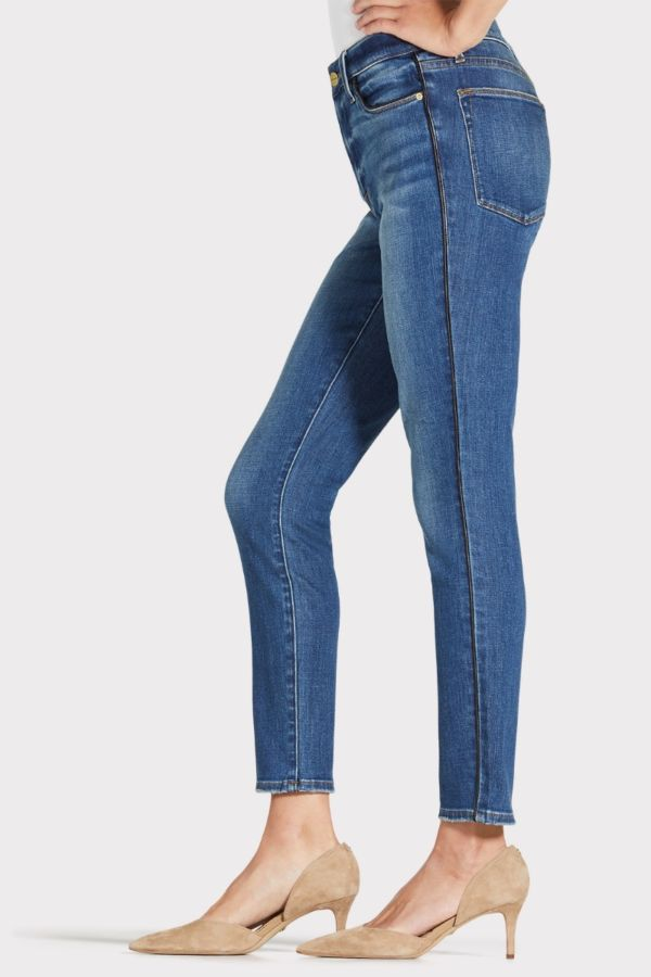 Frame Le High Skinny Tux Piping