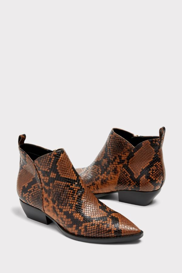 Marc fisher Snake Bootie