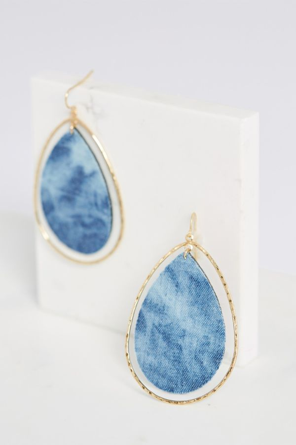 Thirty-nine 42 Tie Dye Statement Earrings
