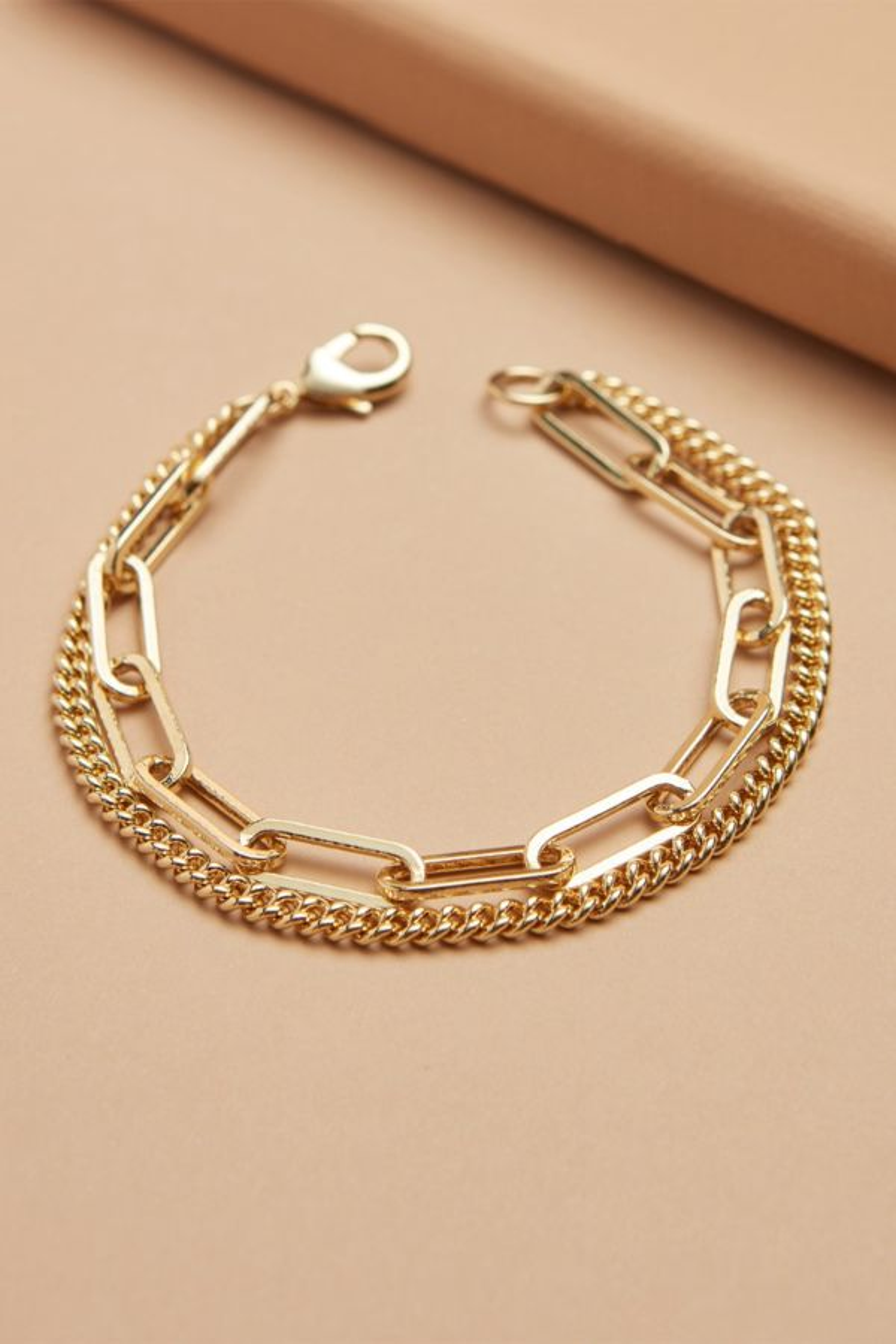 Thirty-nine 42 Cleo Paperclip Chain Bracelet