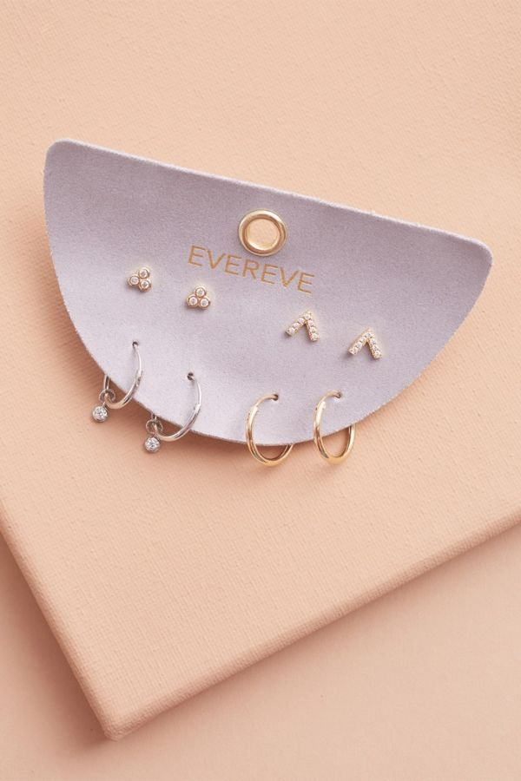 Evereve Addie Huggie Earring Pack