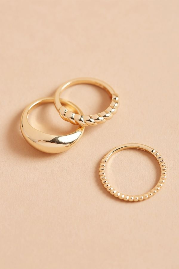 Evereve Goldie Ring Stack