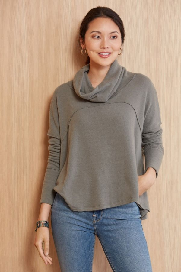 Free people Cozy Time Funnel Pullover